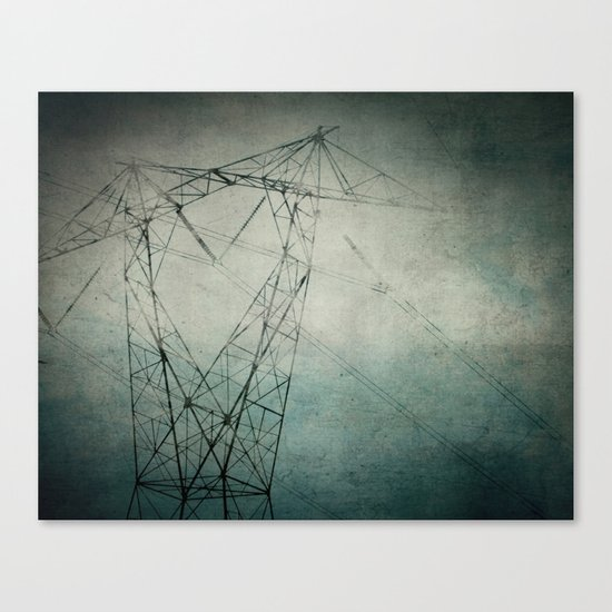 The Power of Line Canvas Print