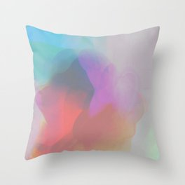 watercolor paint Throw Pillow