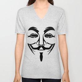 Anonymous Vendetta Unisex V-Neck