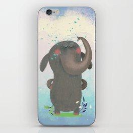 An elephant. iPhone Skin