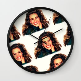 Julia Roberts' Mona Lisa Smile Wall Clock