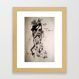Slow-pitch Framed Art Print