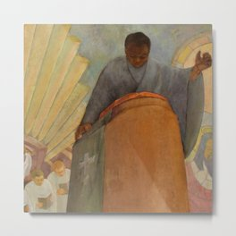 African American Masterpiece 'Faith - The Pursuit of Happiness' by Vertis Hayes 1937 Metal Print