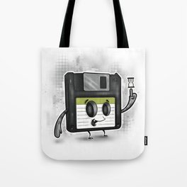 Floppy Disc Dave Tote Bag