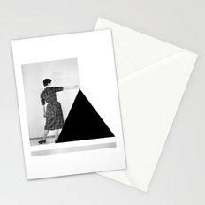 Be my Triangle Stationery Cards