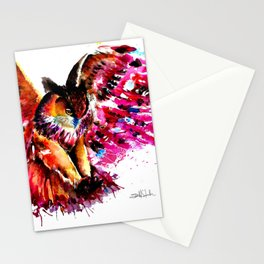 Flying Owl Stationery Cards
