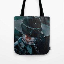 Carl Grimes Shot In The Eye - The Walking Dead Tote Bag