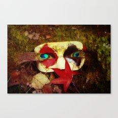 Woodland Masquerade Canvas Print