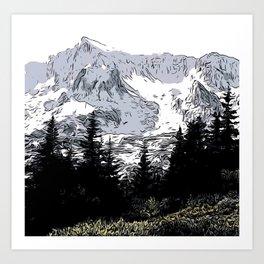 Skoglende Art Print