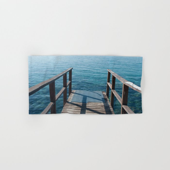 Into the sea Hand & Bath Towel
