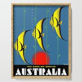 Australia Great Barrier Reef Queensland Serving Tray