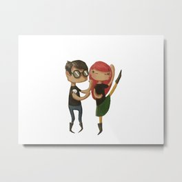Let's dance Metal Print