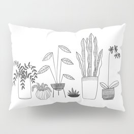 Urban jungle Pillow Sham