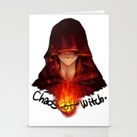 dark souls Stationery Cards featuring Dark Souls - Chaos Witch Quelana by Vivid-K