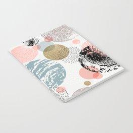 Circles texture Notebook