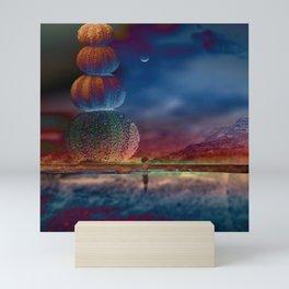 Imaginary landscape III Mini Art Print