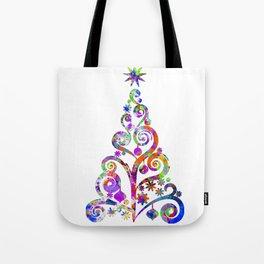 Cristmas Tree Tote Bag