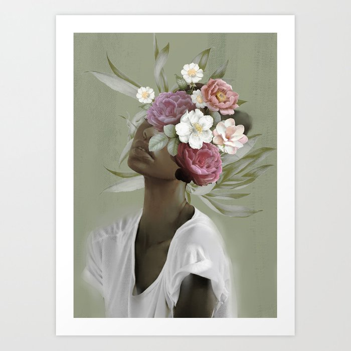 Bloom 9 Art Print