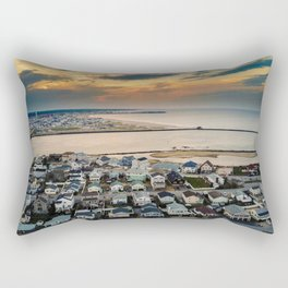 Sky's Fire Rectangular Pillow