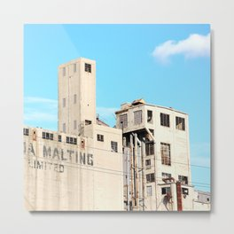 Old abandoned factory Metal Print