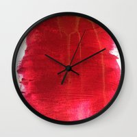 dexter Wall Clocks featuring Dexter. by Super Retro Retaliations