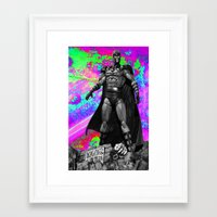 magneto Framed Art Prints featuring Magneto by Lord Rocco