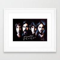 floyd Framed Art Prints featuring  Floyd by Melanie D