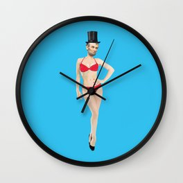 Baberaham Lincoln  Wall Clock