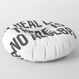 in real life there is NO algebra Floor Pillow