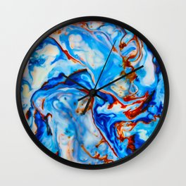Milkblot No. 4 Wall Clock