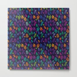 Colorful meadow with wildflowers and berries Metal Print