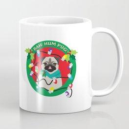 Sassy Boy! Bah Hum Pug Christmas Pug Coffee Mug