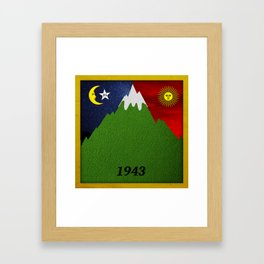 Bicycle Day 1943 Framed Art Print