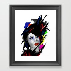 She Framed Art Print