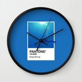 Pantone Series – Deep Diving Wall Clock