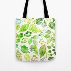 Green & Leafy Tote Bag