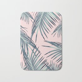Blush Palm Leaves Dream #1 #tropical #decor #art #society6 Bath Mat