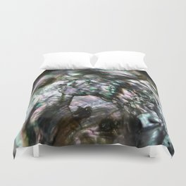 The World's Your Oyster Duvet Cover