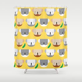 Kooky Koalas I Shower Curtain