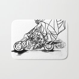 Motorcycle Bath Mat