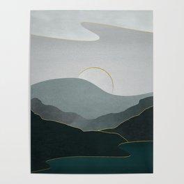 Minimal Landscape 08 Poster