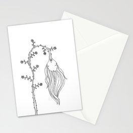 Lethargic Flower Stationery Cards