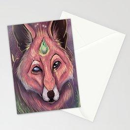 Fox of Wisdom Stationery Cards