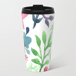 Red Laurels Travel Mug