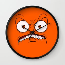 Emotional Hateful Tuesday - by Rui Guerreiro Wall Clock