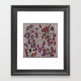The Great Battle of 1211 Framed Art Print