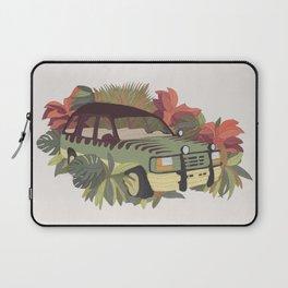 Jurassic Car Laptop Sleeve