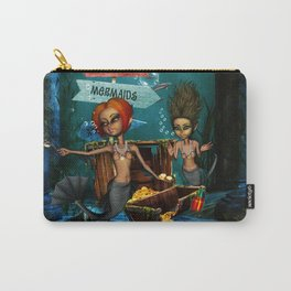 The treasure of the little mermaids Carry-All Pouch
