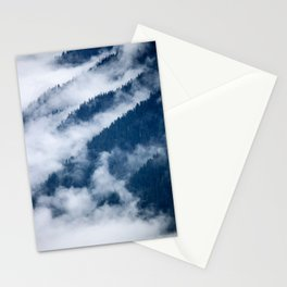 Olympic Mountains from Hurricane Ridge Stationery Cards