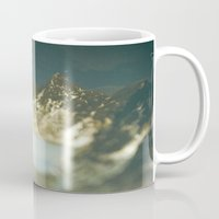 paradise Mugs featuring Paradise by DejaReve